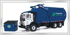 Recycling Solutions in BLUE GAP, . Call 1-877-896-6079