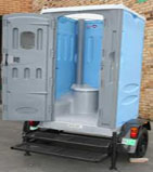 Trailer-Mounted Toilet Rentals in MASSACHUSETTS. Call 877-869-6079